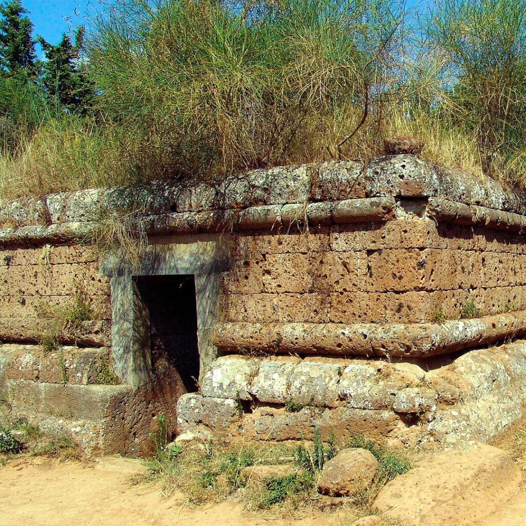 Tomba nella Necropoli di Cerveteri